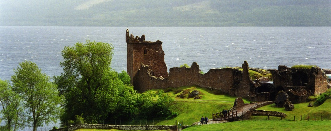 Near Loch Ness and Urquhart Castle